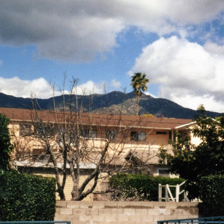 The view from my Burbank apartment in 1998