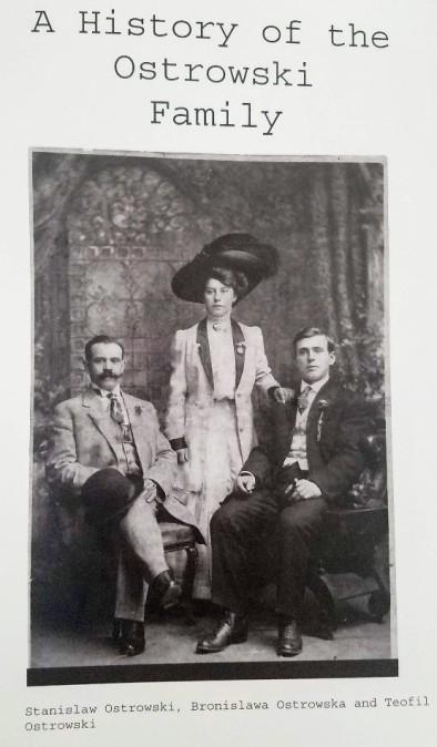 Ostrowski Family Photo 1900s